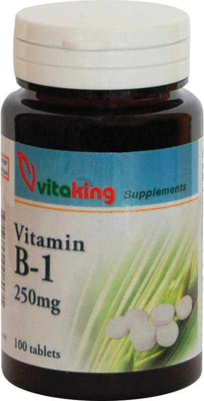 VK B-1 vitamin 250 mg (100) tabl.
